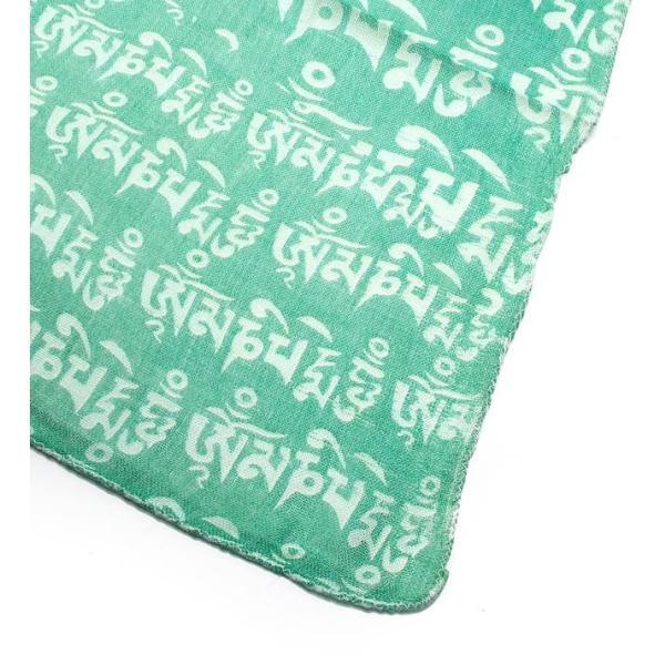ラムナミ チベット 布 (160cm×70cm)ヒストリーブッダのファンシーストール ショール ドゥパッタ スカーフ レディース エスニック衣料 tirakita-shop 03