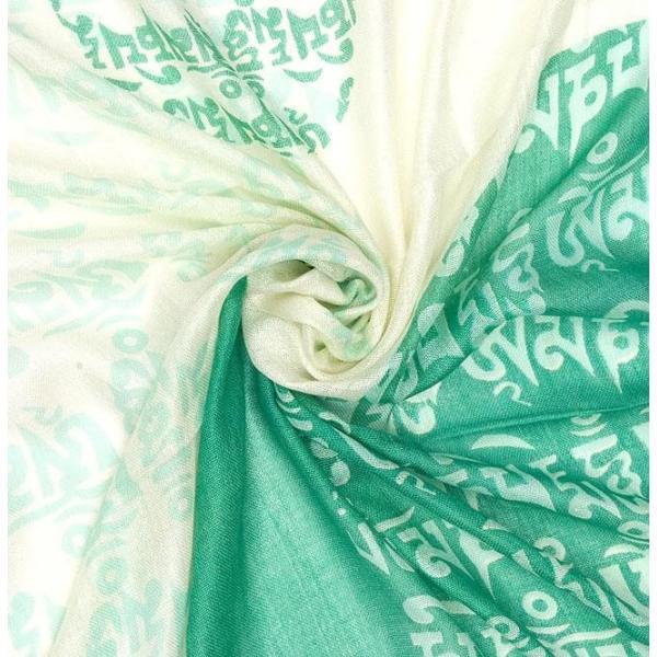 ラムナミ チベット 布 (160cm×70cm)ヒストリーブッダのファンシーストール ショール ドゥパッタ スカーフ レディース エスニック衣料 tirakita-shop 04