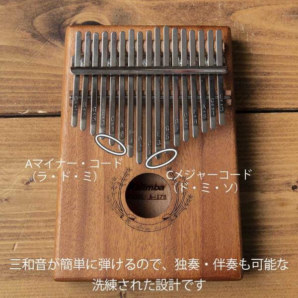 (高級カリンバ) Cメジャートライアド / 親指ピアノ サムピアノ 民族楽 レビューでタイカレープレゼント tirakita-shop 07