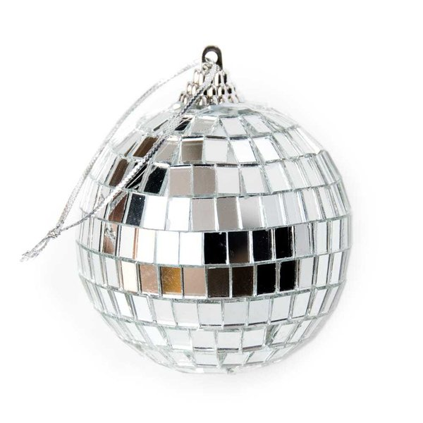 ミラーボール デコレーション パーティー クリスマス 手のひらサイズのミラーボール パーティーなどの装飾へ 70mm mirror ball エスニック インド アジア 雑貨|tirakita-shop|02