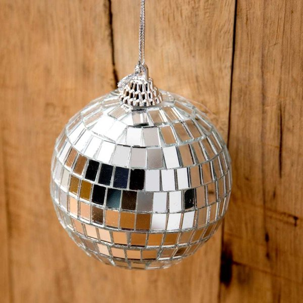 ミラーボール デコレーション パーティー クリスマス 手のひらサイズのミラーボール パーティーなどの装飾へ 70mm mirror ball エスニック インド アジア 雑貨|tirakita-shop|05