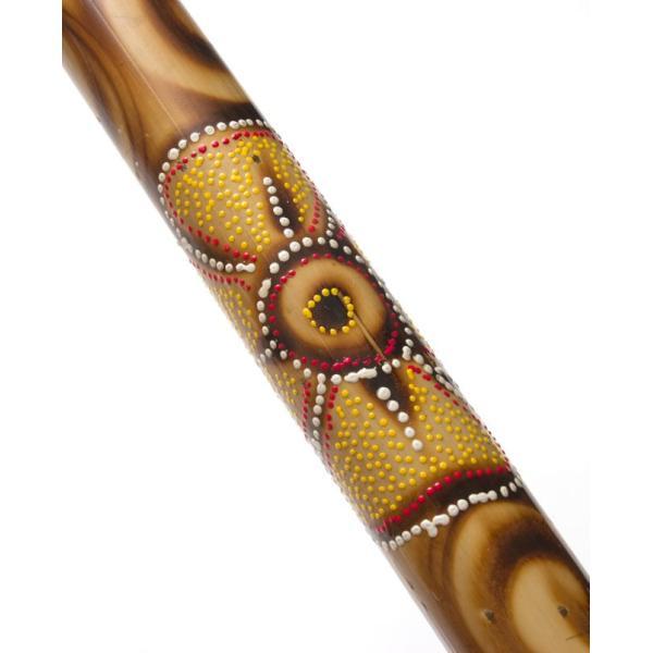 レインスティック 雨音がする民族楽器 80cm(花柄) / 癒やし レビューでタイカレープレゼント|tirakita-shop|04