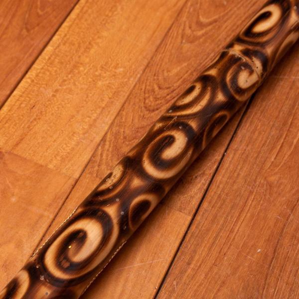 楽器 癒やし 民族楽器 レインスティック バリ 打楽器 雨音 波の音 波音 雨音がする民族楽器 100cm (花柄) インド楽器 エスニック楽器 ヒーリング楽器|tirakita-shop|05