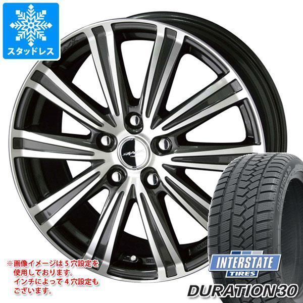 スタッドレスタイヤ インターステート デュレーション30 215/45R17 91H XL スマック スパロー 7.0-17|tire1ban|01