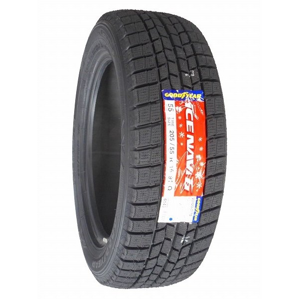 205/55R16 2019年製 新品スタッドレスタイヤ GOODYEAR ICE NAVI 6 アイスナビ6 205/55/16|tire|03