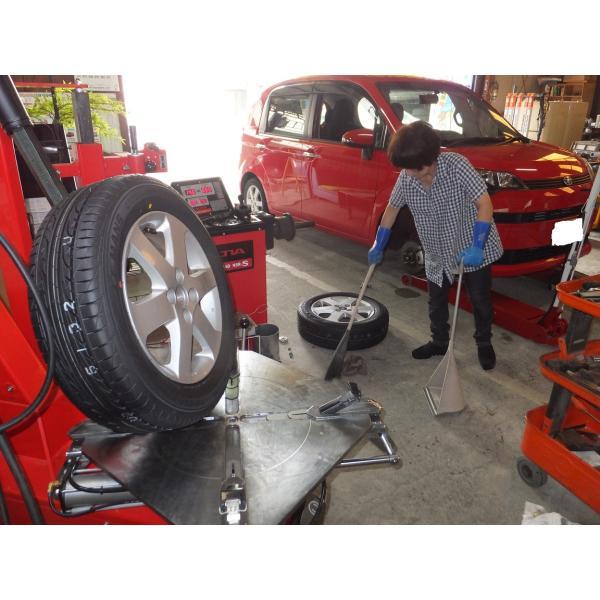 西条市タイヤ持込み交換4本12〜16インチ tirestep 04