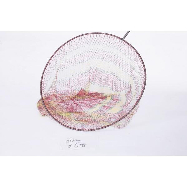 超大物用 硬形態チタン ワンピース 玉枠 直径100cm玉枠+PE10号手編みタモ網 (6番色セット)