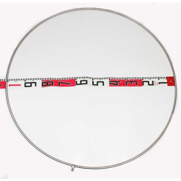 硬形態チタン ワンピース 玉枠 超大物用 直径100cm チタンタモ網|titanium|02