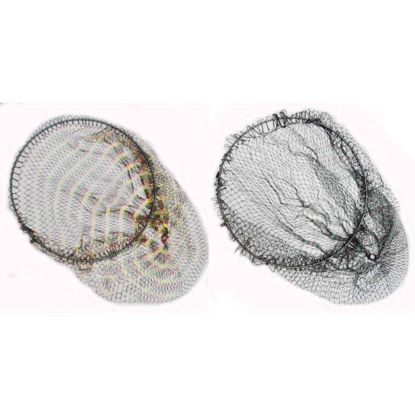 64チタン ワンピース 玉枠 (直径35cm Φ5mm)+ PE10号 手編み タモ網 セット