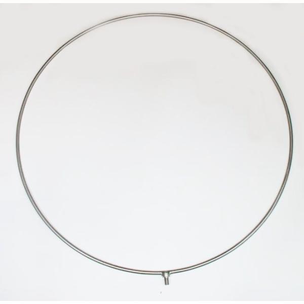 硬形態チタン ワンピース チタン玉枠 & タモ網 直径80cm 鯉釣り & 大物釣り|titanium|02