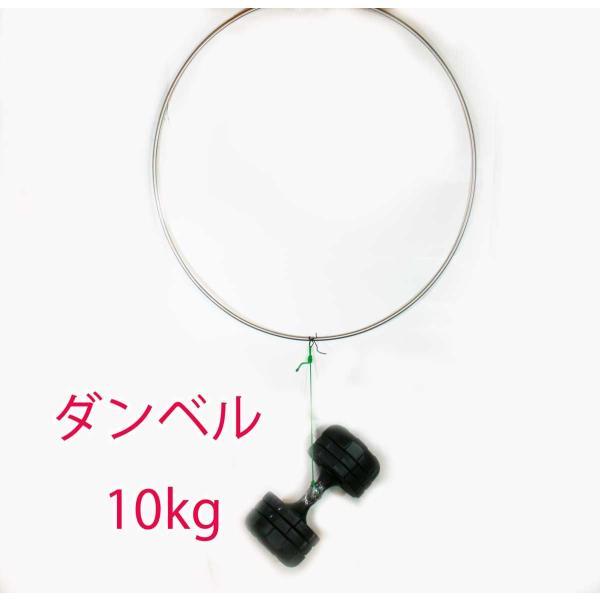 硬形態チタン ワンピース チタン玉枠 & タモ網 直径80cm 鯉釣り & 大物釣り|titanium|05