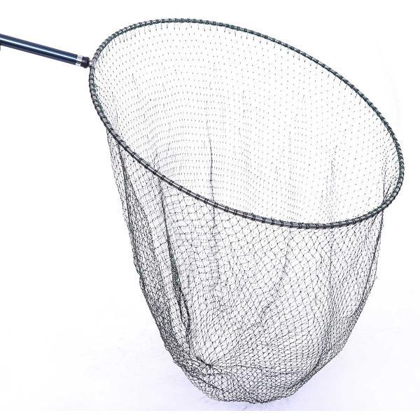 磯釣り ・ 船釣り 硬形態チタン 直径80cm ワンピース 玉枠 + PE10号 手編み タモ網 2点セット (3番柄)|titanium