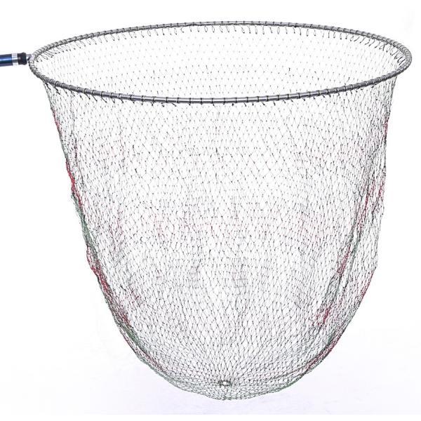 磯釣り ・ 船釣り 硬形態チタン 直径80cm ワンピース 玉枠 + PE10号 手編み タモ網 2点セット (3番柄)|titanium|02