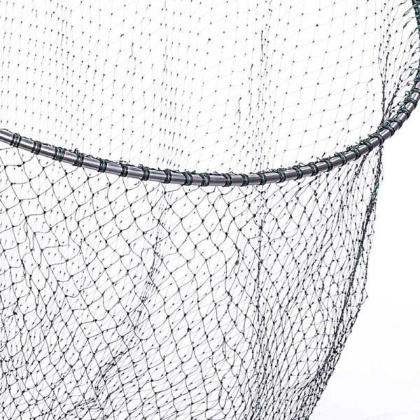 磯釣り ・ 船釣り 硬形態チタン 直径80cm ワンピース 玉枠 + PE10号 手編み タモ網 2点セット (3番柄)|titanium|03