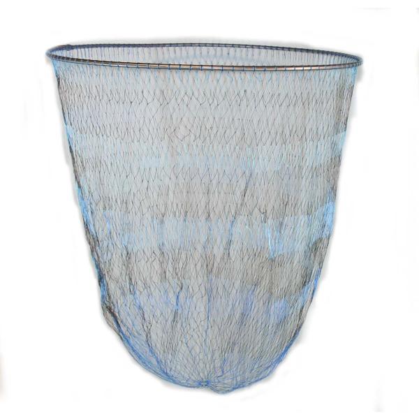 磯釣り ・ 船釣り 硬形態チタン 直径80cm ワンピース 玉枠 + PE10号 手編み タモ網 2点セット (4番柄)|titanium