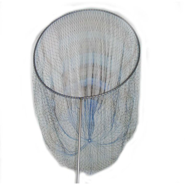 磯釣り ・ 船釣り 硬形態チタン 直径80cm ワンピース 玉枠 + PE10号 手編み タモ網 2点セット (4番柄)|titanium|02