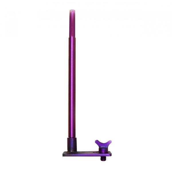 64チタン アンカーピトン固定具+1/2インチ螺旋+3/8インチ螺旋 3点セット  紫色陽極酸化 【KOTEI-01-02-03set】