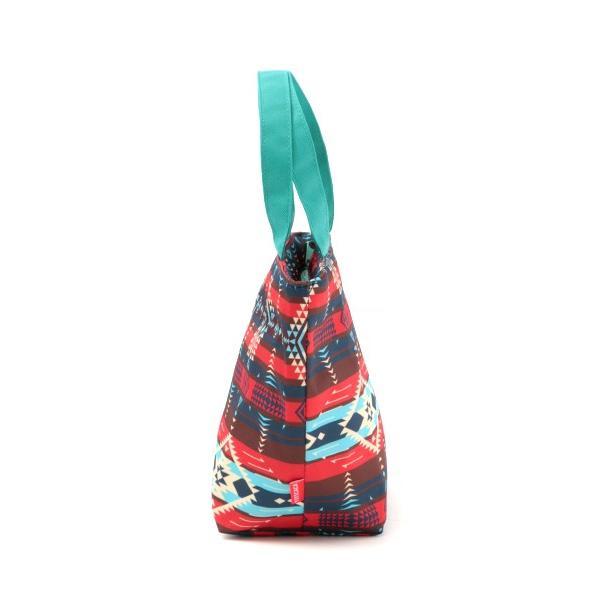 保冷バッグ ランチバッグ サブバッグ 保冷 トート おしゃれ 折りたたみ お弁当 バッグ アウトドア ヴィンテージナバホ保冷バッグS zhscb2341|titicaca-y|05