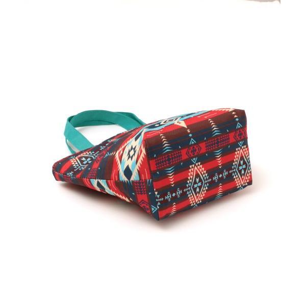 保冷バッグ ランチバッグ サブバッグ 保冷 トート おしゃれ 折りたたみ お弁当 バッグ アウトドア ヴィンテージナバホ保冷バッグS zhscb2341|titicaca-y|08