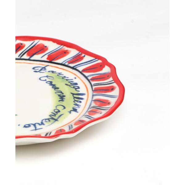プレート 皿 小皿 中皿 夏 春 食器 取り皿 ケーキ皿 丸皿 キッチン カラフル インテリア プレゼント ギフト 贈り物 メキシコフラワー プレート ziscc2422 titicaca-y 11