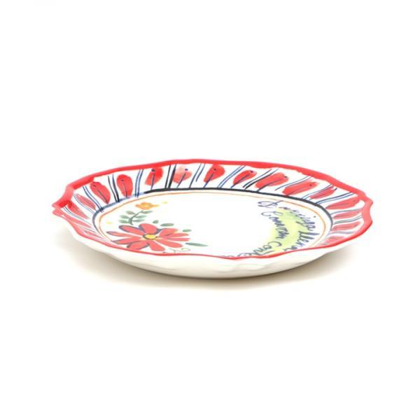 プレート 皿 小皿 中皿 夏 春 食器 取り皿 ケーキ皿 丸皿 キッチン カラフル インテリア プレゼント ギフト 贈り物 メキシコフラワー プレート ziscc2422 titicaca-y 10