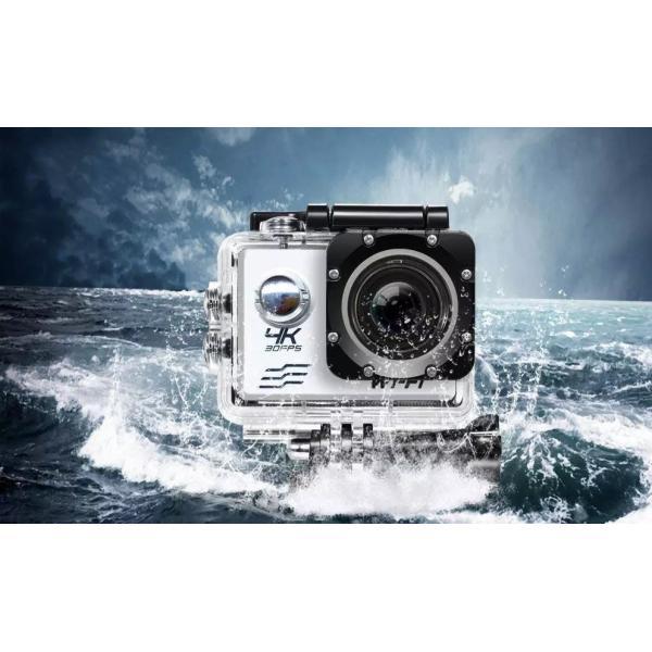 アクションカメラ 2インチ WIFI機能搭載 1080P フルHD 170度広角 30M防水 ドライブレコーダーモードあり ブラック tk1234 04