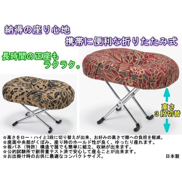 正座椅子 らくらく 高さ 3段切替型 えくぼ E-9-3 tkp