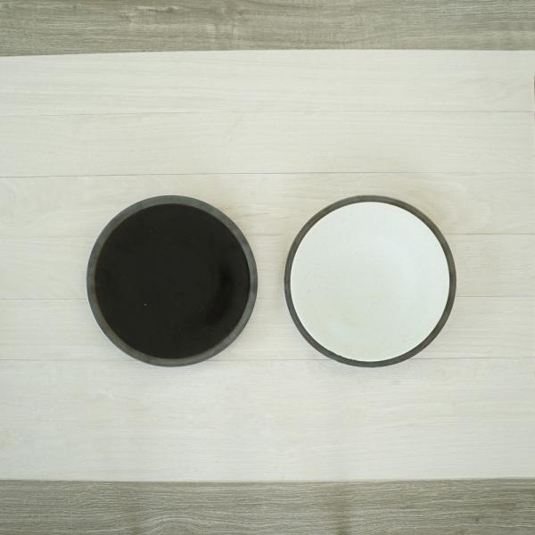 TLP LINE 25cm FLAT PLATE フラットプレート皿 唐津色 白ホワイト tlp 03