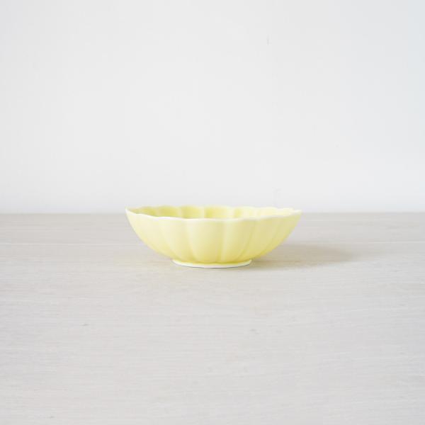 TLP KIKU 16cm OVAL BOWL オーバルボウル菊皿 黄イエロー|tlp|02