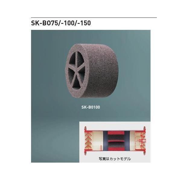 神栄ホームクリエイト 新協和 SK-BO75 防音スリーブ 防炎製品認定材使用