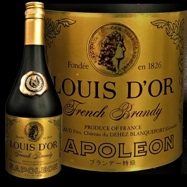 【ルイドール・ナポレオン】ブランデー特級 700ml 40度 古酒 未開栓 お酒 C909-1|tmkshichi