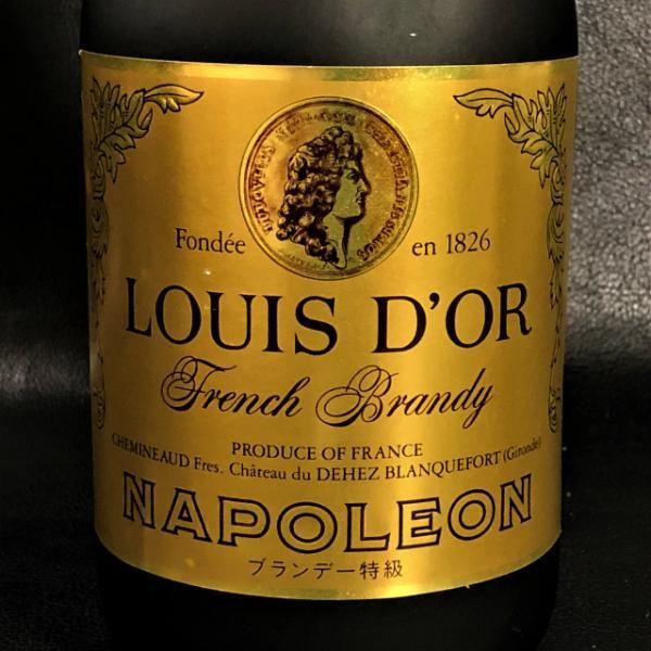 【ルイドール・ナポレオン】ブランデー特級 700ml 40度 古酒 未開栓 お酒 C909-1|tmkshichi|03