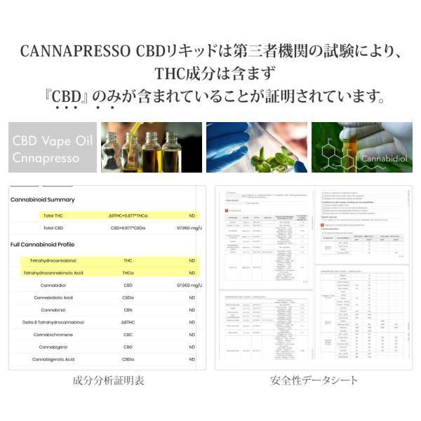 CBD 電子タバコ リキッド プルームテック vape  互換 100mg 15ml CANNAPRESSO カンナプレッソ 高濃度 再生可能 Cannabis Hemp ヘンプ 医療大麻 禁煙|tmljapan|05