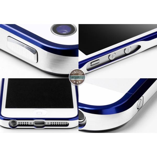 a649723300 ... iPhoneSE ケース バンパー アルミ SWORD5+ アルミバンパー アイフォンSE 5s 高級 高品質 青 (ロイヤル ...