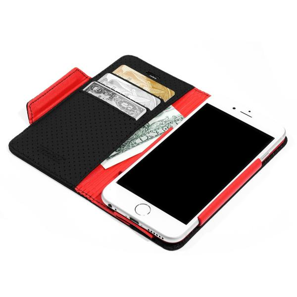 d32601fdf6 ... iPhone6s Plus ケース 本革 手帳型 レザー カバー マグネット アイフォン6s プラス 人気 スタンド 高級 ...