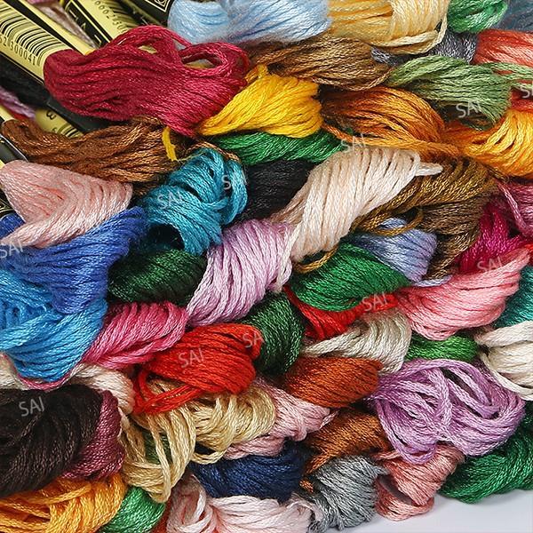 刺繍糸 100色 セット 100束 8m 25番糸 手芸糸 刺繍用糸 糸 クロスステッチ ししゅう糸 ハンドメイド|tn-b|03