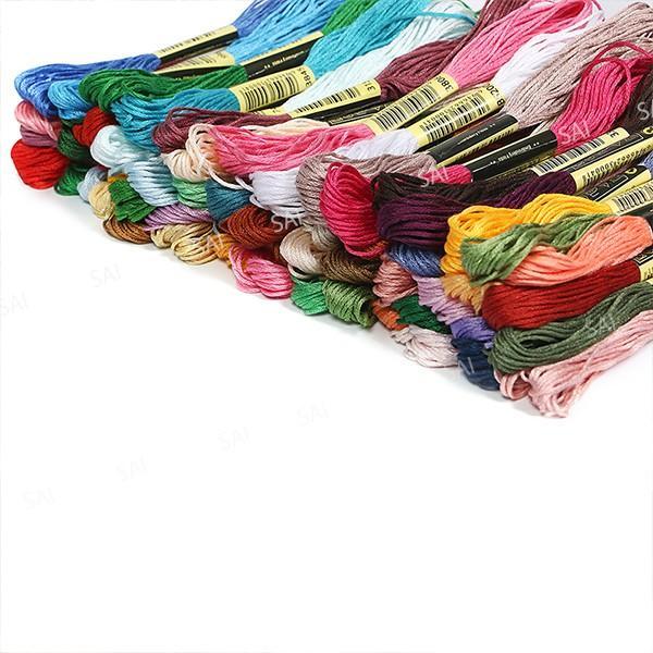 刺繍糸 100色 セット 100束 8m 25番糸 手芸糸 刺繍用糸 糸 クロスステッチ ししゅう糸 ハンドメイド|tn-b|04