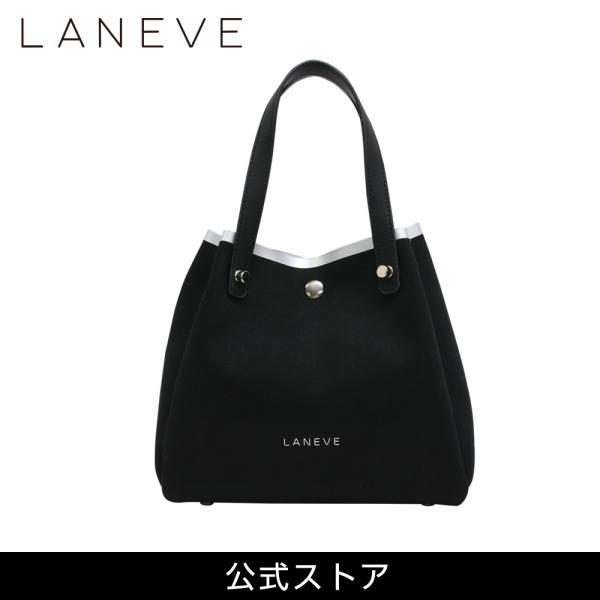 LANEVE ランイブ レディース トートバッグ 11383 BK/SV (162962) tn-square