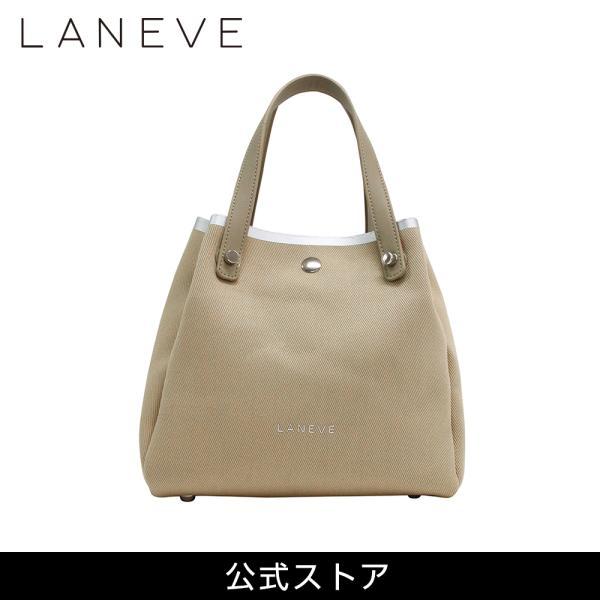 LANEVE ランイブ レディース トートバッグ 11383 BE/SV (162966)|tn-square