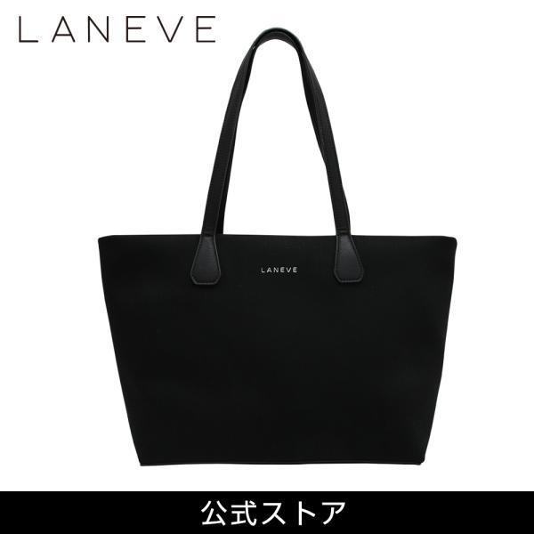 LANEVE ランイブ レディース トートバッグ 11385 BK/SV (162968)|tn-square