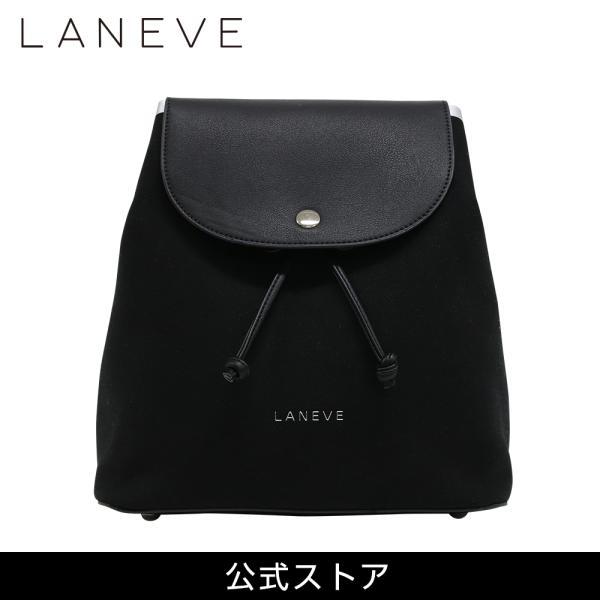 LANEVE ランイブ レディース 2WAY リュック ショルダーバッグ 11386 BK/SV (162974)|tn-square