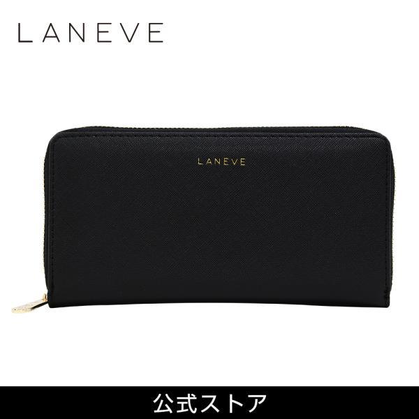 LANEVE ランイブ レディース  長財布 L56801 BK ブラック 黒 (169003)|tn-square