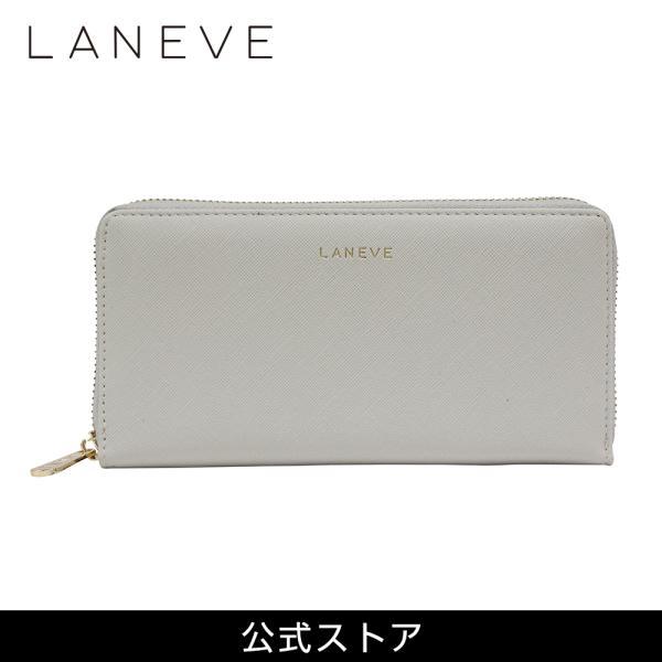 LANEVE ランイブ レディース  長財布 L56801 グレージュ(GJ) (169006)|tn-square