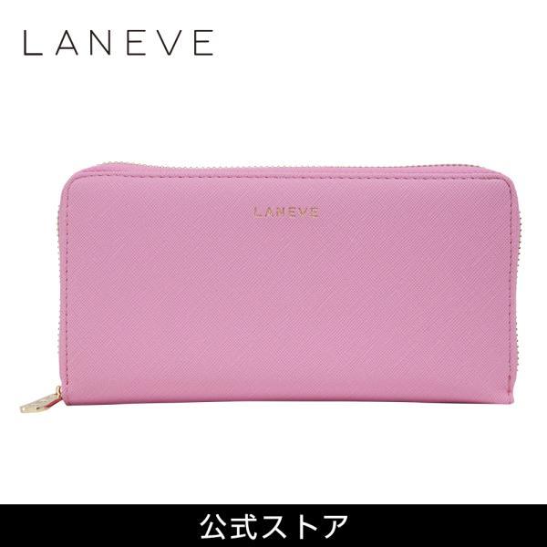 LANEVE ランイブ レディース  長財布 L56801 PK ピンク (169007)|tn-square