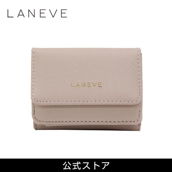 LANEVE ランイブ レディース  ミニ財布 L56803 BE ベージュ (169017)|tn-square