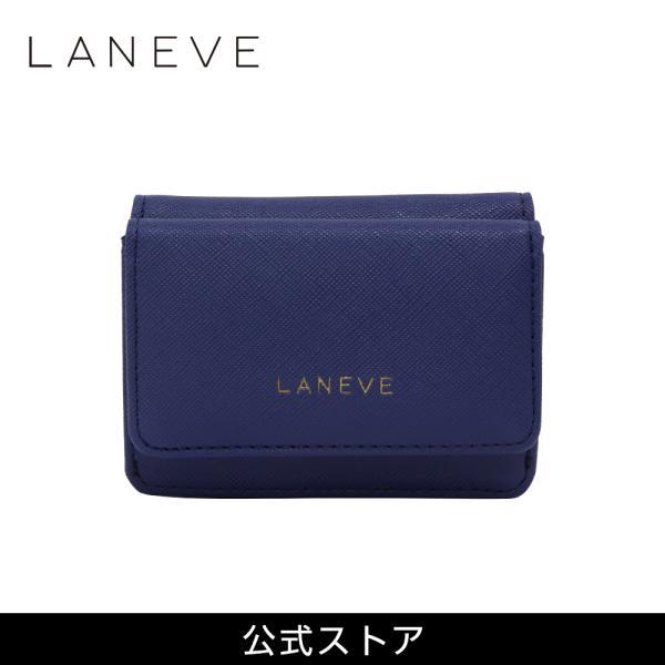 LANEVE ランイブ レディース  ミニ財布 L56803 NV ネイビー 紺 (169018)|tn-square