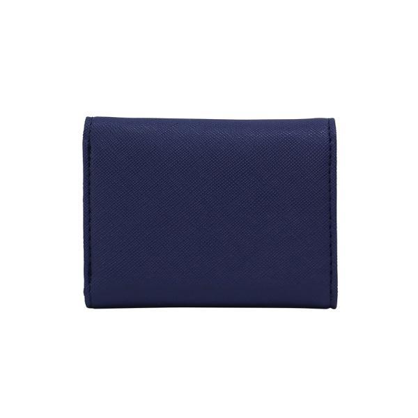 LANEVE ランイブ レディース  ミニ財布 L56803 NV ネイビー 紺 (169018)|tn-square|02