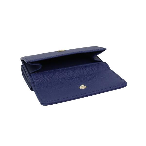 LANEVE ランイブ レディース  ミニ財布 L56803 NV ネイビー 紺 (169018)|tn-square|04