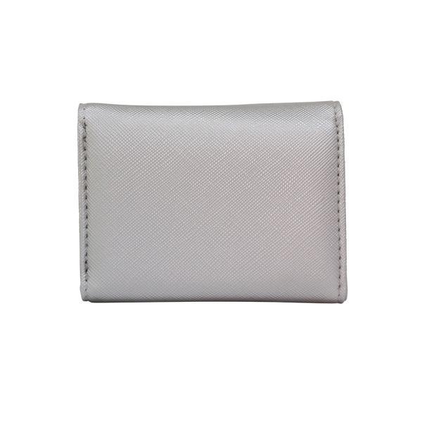 LANEVE ランイブ レディース  ミニ財布 L56803 SV シルバー 銀 (169019)|tn-square|02