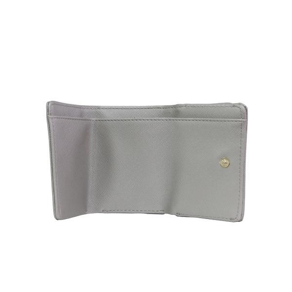 LANEVE ランイブ レディース  ミニ財布 L56803 SV シルバー 銀 (169019)|tn-square|05